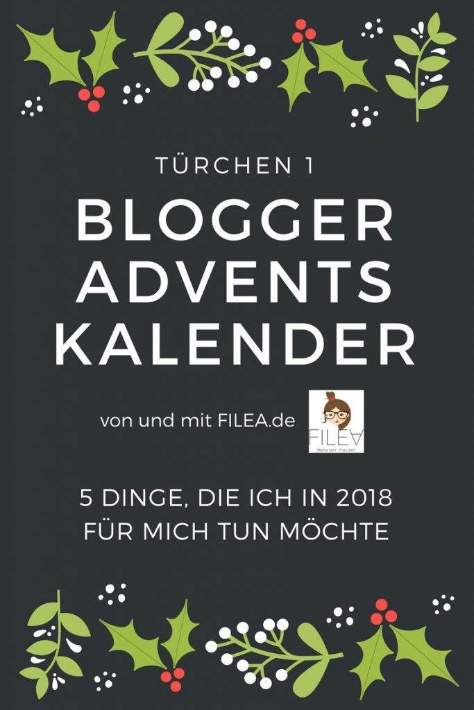 BLOGGER ADVENTSKALENDER FILEA Türchen 1
