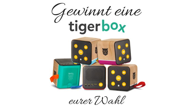 Gewinnt eine Tigerbox eurer Wahl