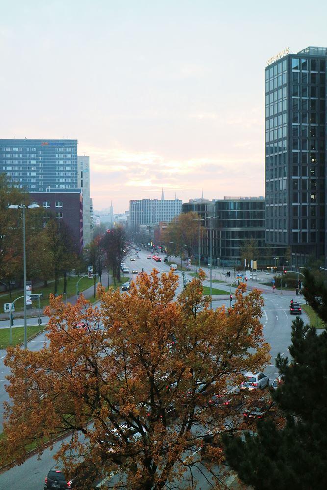 Hamburg - Novotel Alster City - Aussicht