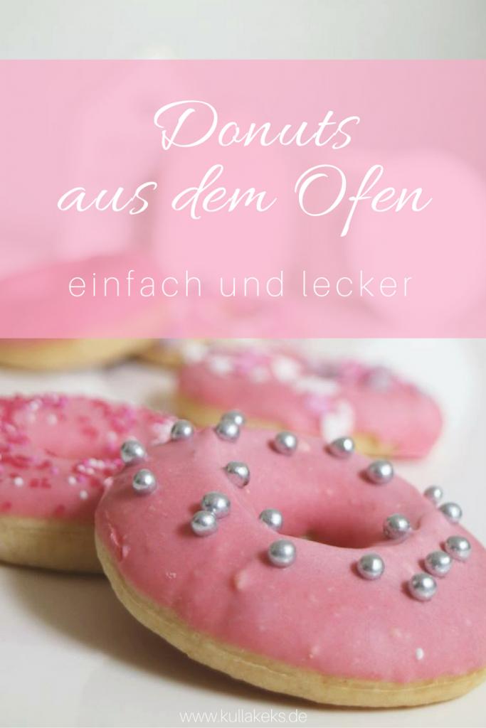 Pinterest Donuts aus dem Ofen