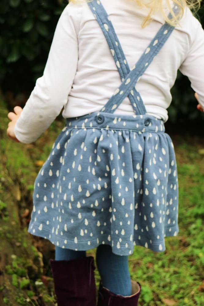 Lily Balou - Winter 2017 - Latzrock - Kinderkleidung
