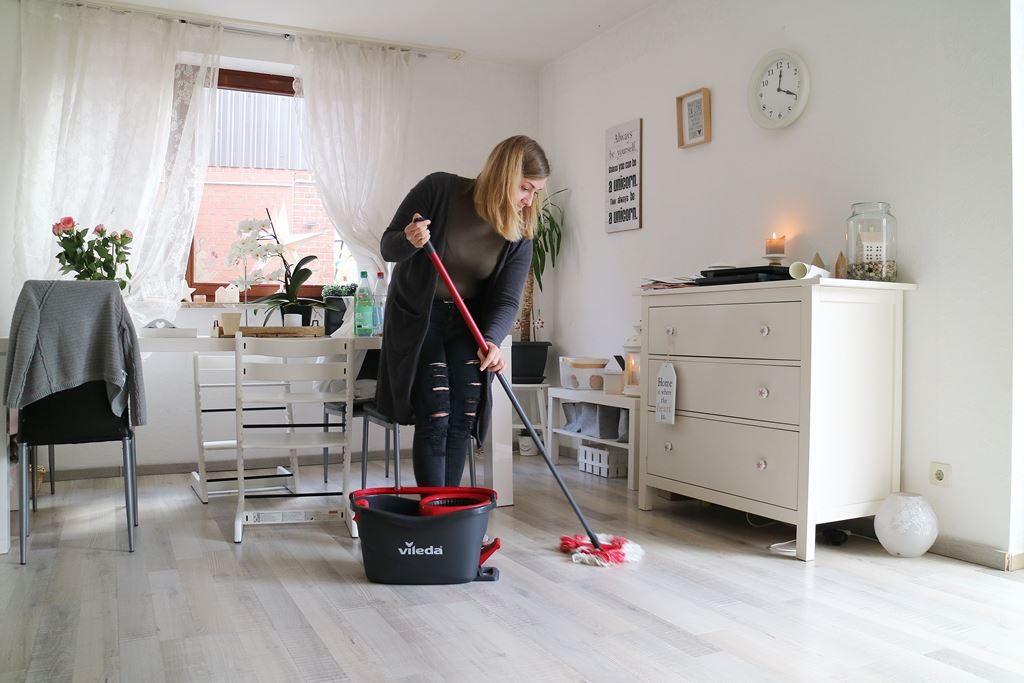 Haushalt Wischen Hausarbeit