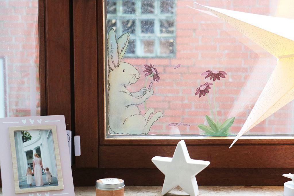 Fensterbild Hase Tinyfoxes