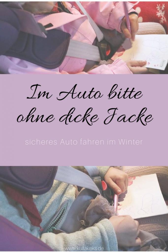 Pinterest - Im Auto bitte ohne dicke Jacke