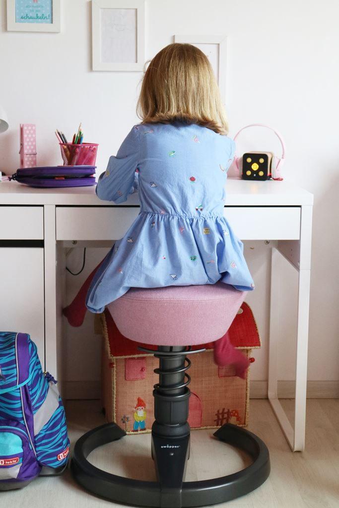 Kullakeks - Swooper - Erfahrung - Kinderstuhl - Kinderzimmer