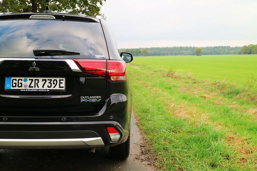 Kullakeks - Familienautotest - Mitsubishi - Outlander - Heck