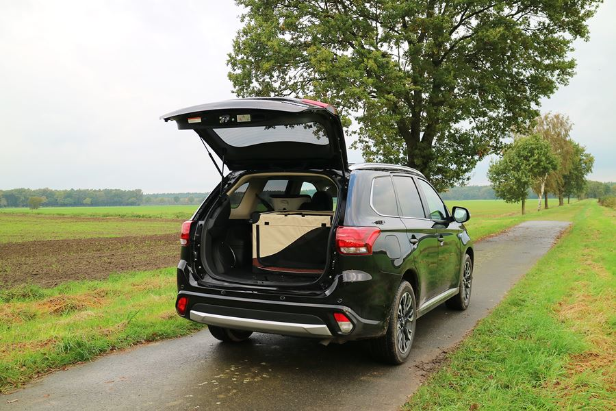 Kullakeks - Familienautotest - Mitsubishi - Outlander - Kofferraum