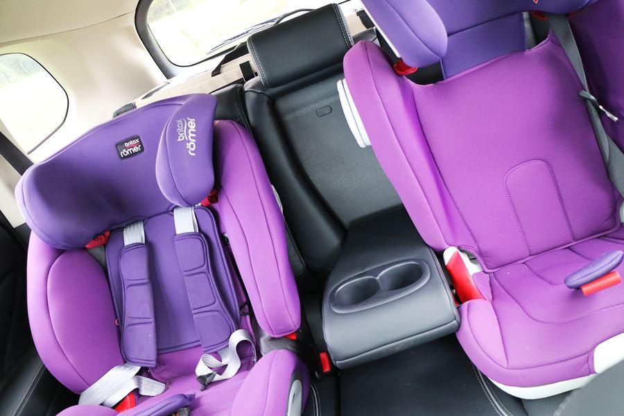 Kullakeks - Familienautotest - Mitsubishi - Outlander - Rückbank