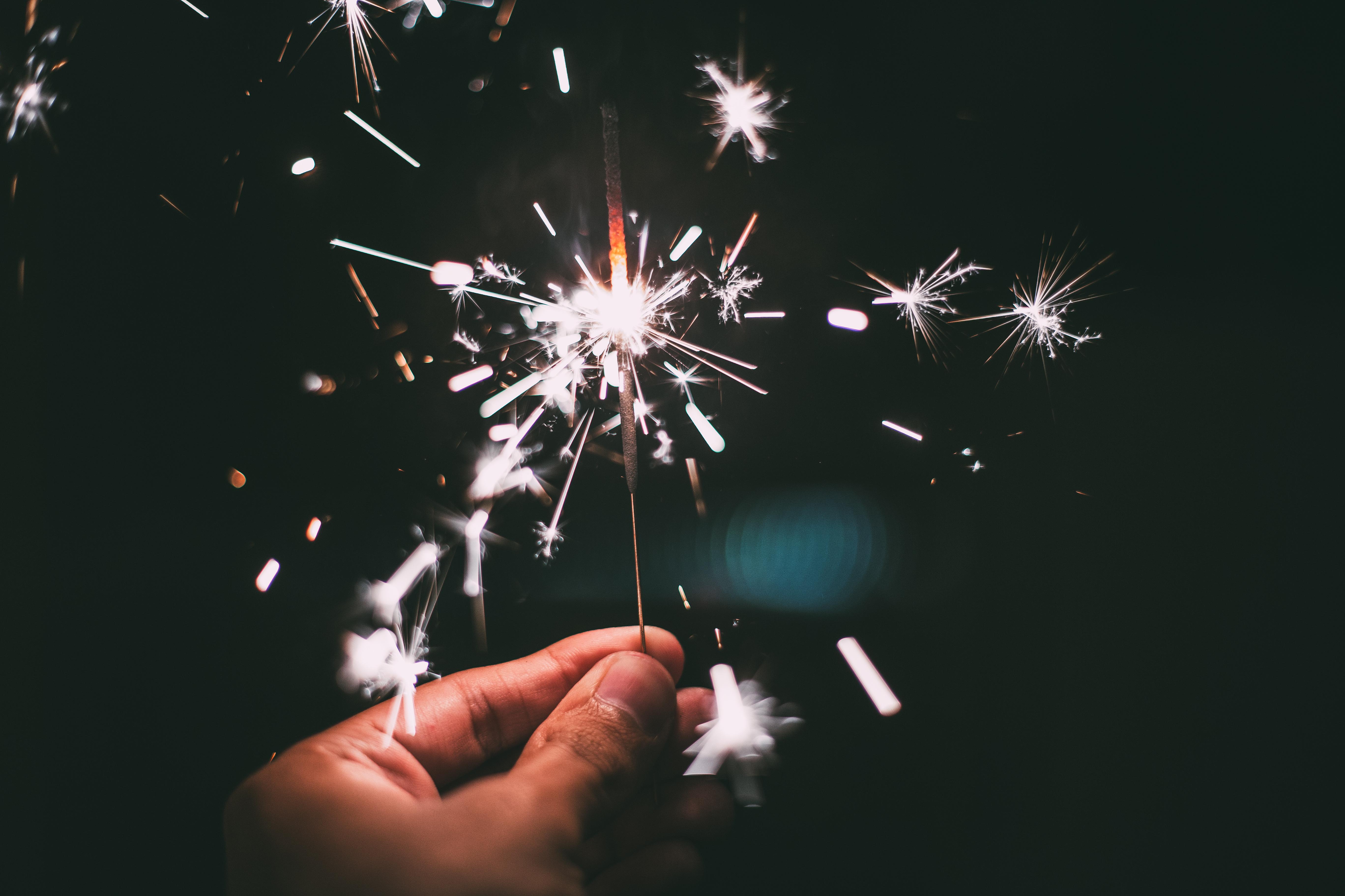 Kullakeks - Gute Vorsätze - Neujahr - Wunderkerze