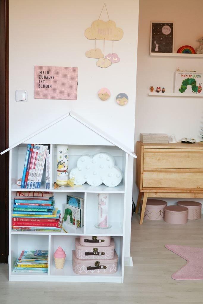 Kullakeks - Kinderzimmer - Mädchenzimmer - Geschwisterzimmer - Bücherregal