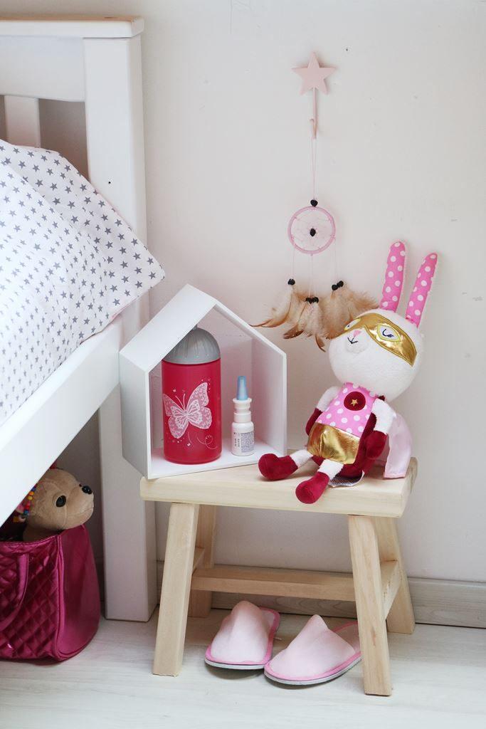Kullakeks - Kinderzimmer - Mädchenzimmer - Geschwisterzimmer - Betten - Nachttisch