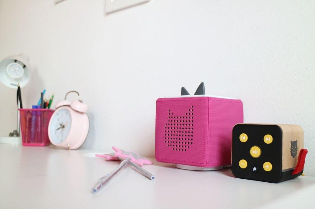 Kullakeks - Kinderzimmer - Mädchenzimmer - Geschwisterzimmer - Schreibtisch - Toniebox - Tigerbox