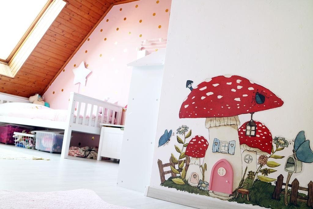 Kullakeks - Kinderzimmer - Mädchenzimmer - Geschwisterzimmer - Wandtattoo - Feentür