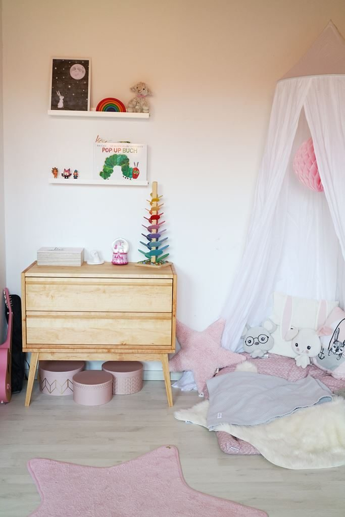 Kullakeks - Kinderzimmer - Mädchenzimmer - Leseecke - Kommode - Biokinder