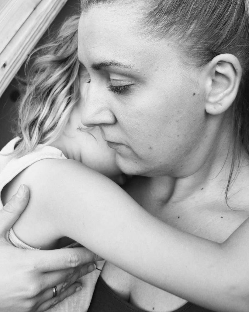 Mama sein - Gedanken - Mutter und Tochter