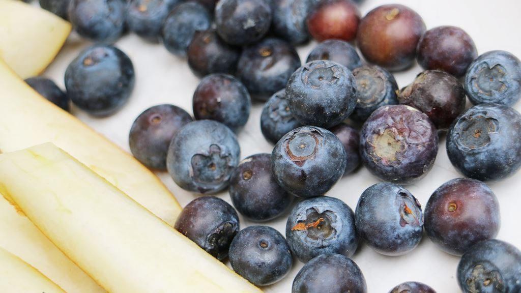 Kullakeks - FruchtZwerge - Danone - Selbstmacheis - Heidelbeeren