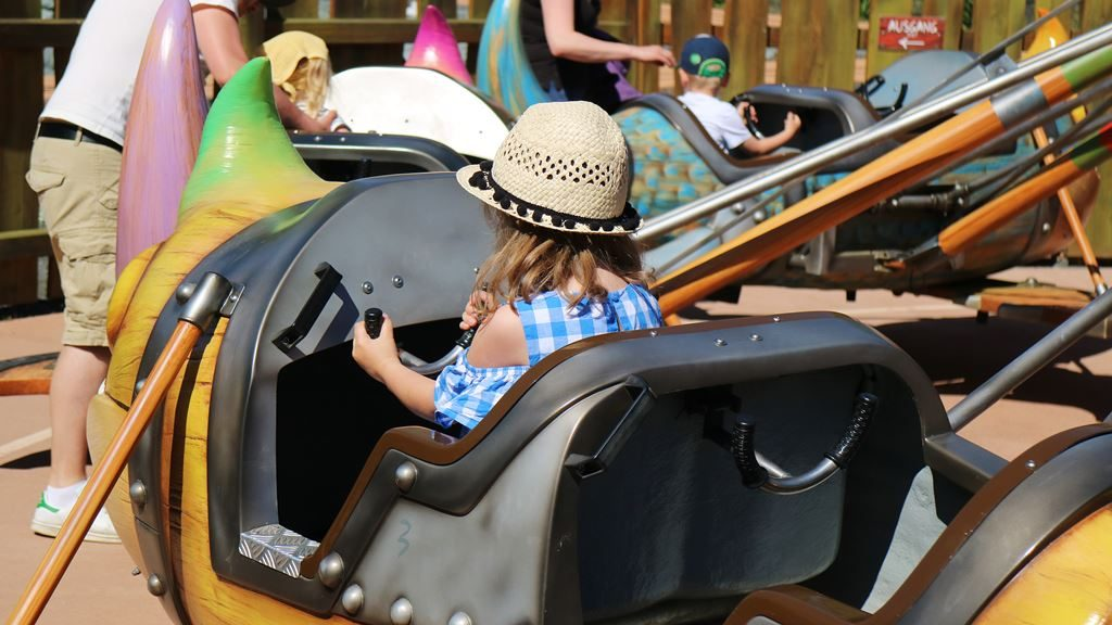 Kullakeks - Merlin Jahreskarte - Heide Park Resort - Drachen fleigen