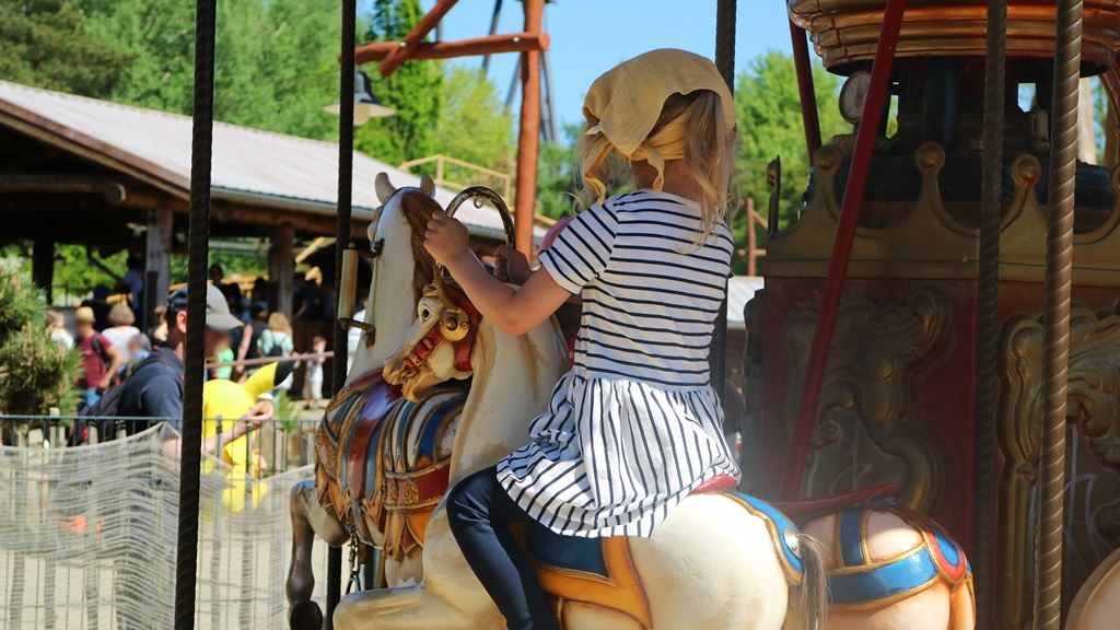 Kullakeks - Merlin Jahreskarte - Heide Park Resort - Karusell