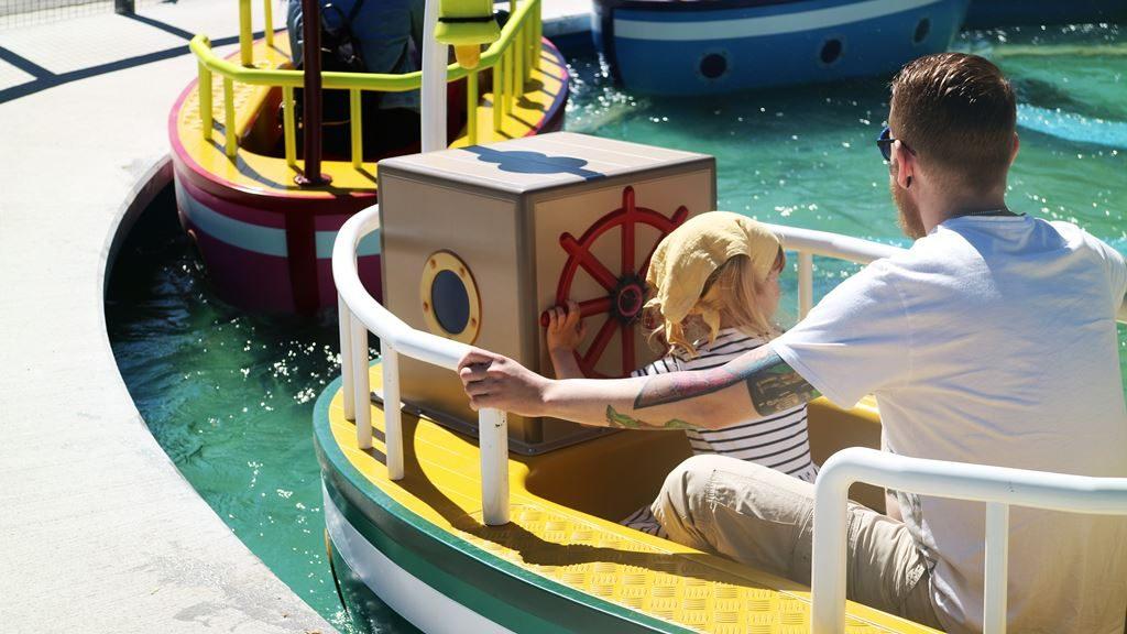 Kullakeks - Merlin Jahreskarte - Heide Park Resort - Peppa Pig - Boot fahren