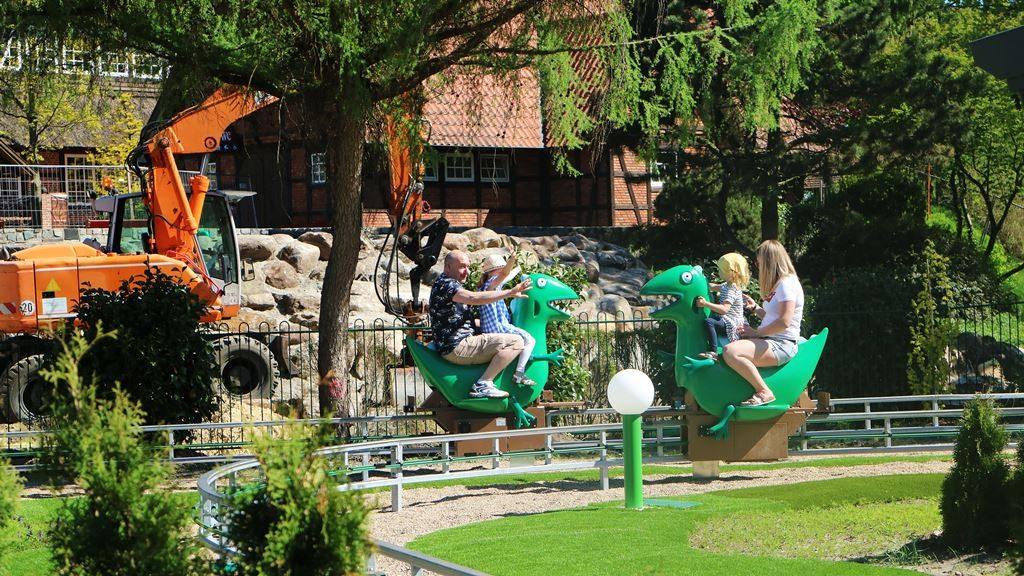 Kullakeks - Merlin Jahreskarte - Heide Park Resort - Peppa Pig - Drachen