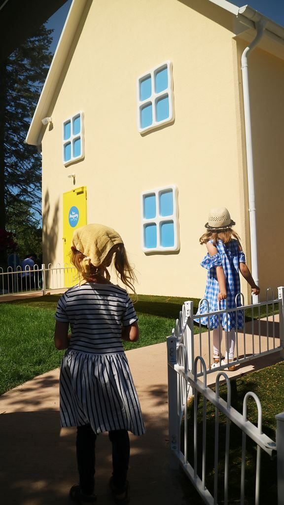 Kullakeks - Merlin Jahreskarte - Heide Park Resort - Peppa Pig - Haus
