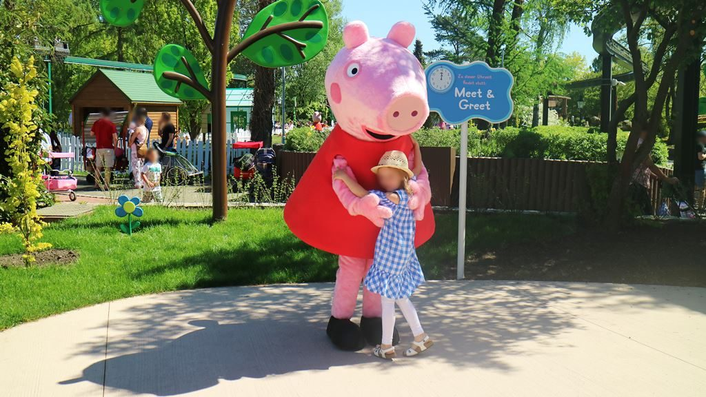Kullakeks - Merlin Jahreskarte - Heide Park Resort - Peppa Pig - Meet & Greet