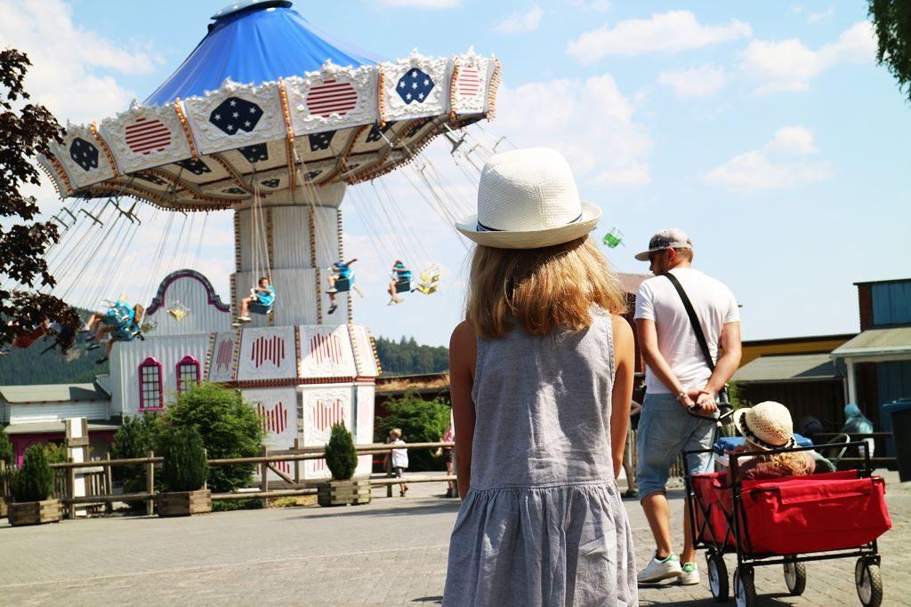 Kullakeks - Freizeitpark - Fort Fun Abenteuerland - Kettenkarussell