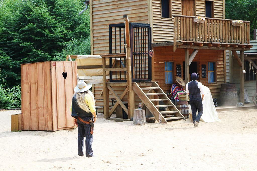 Kullakeks - Freizeitpark - Fort Fun Abenteuerland - Santa Fé Express