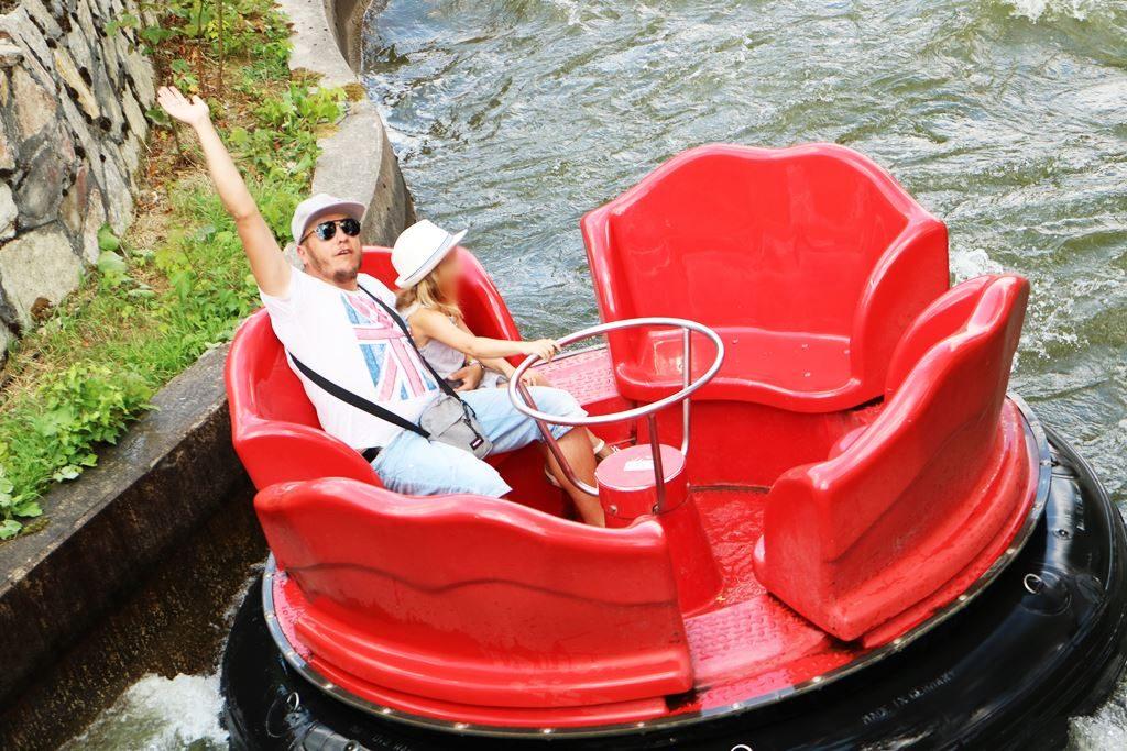 Kullakeks - Freizeitpark - Fort Fun Abenteuerland - Rafting 3