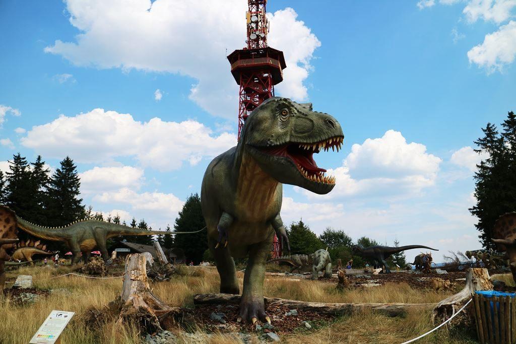 Kullakeks - Freizeitpark - Fort Fun Abenteuerland - Dinosaurier