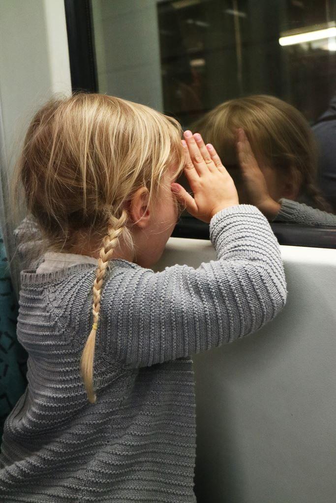 Kullakeks - Berlin - Familienwochenende - U-Bahn fahren