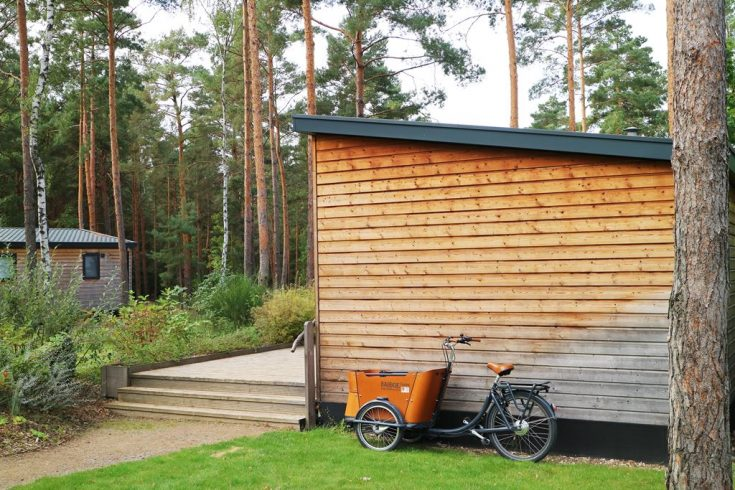 Kullakeks - Tropical Islands - Kurzurlaub - Mobile Homes - Babboe Bike
