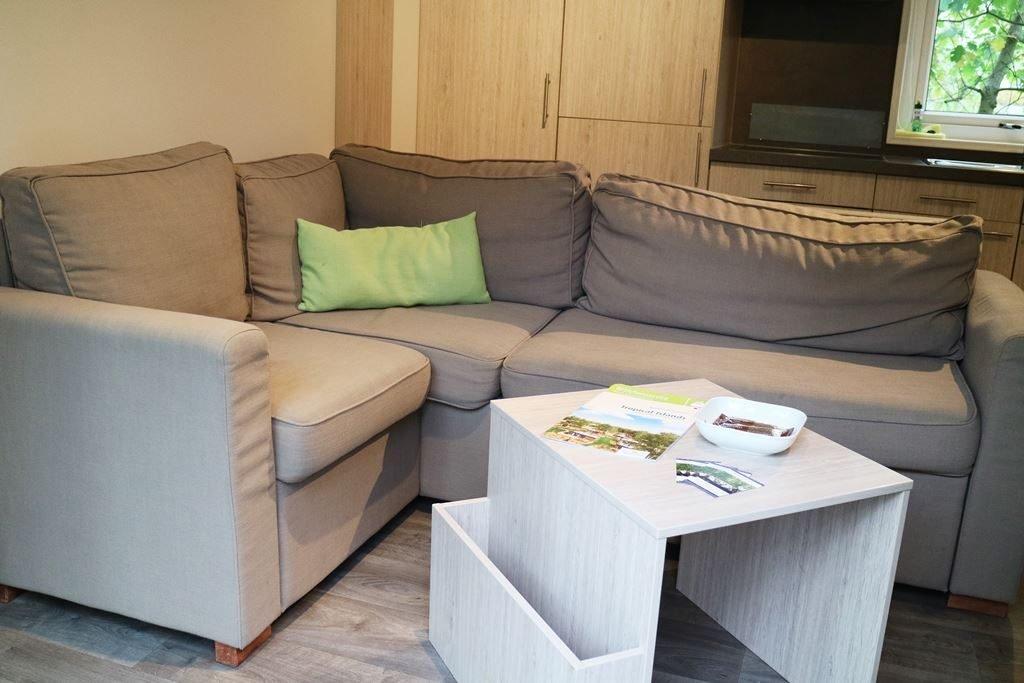 Kullakeks - Tropical Islands - Kurzurlaub - Mobile Homes - Wohnzimmer