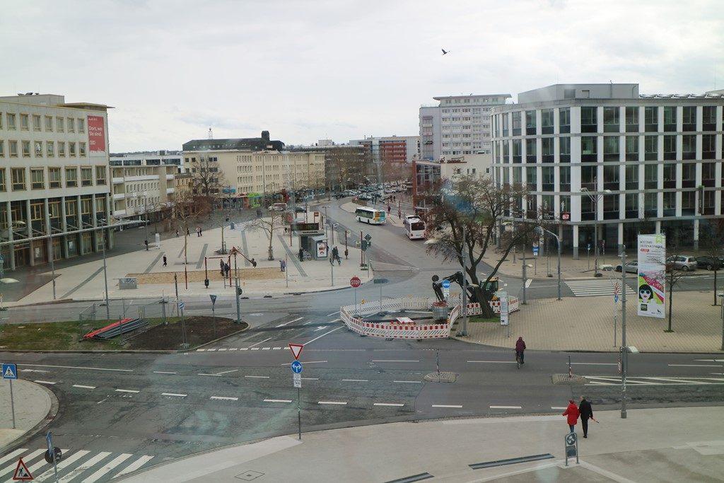 Kullakeks - Phaeno - Wolfsburg - Bistro - Aussicht