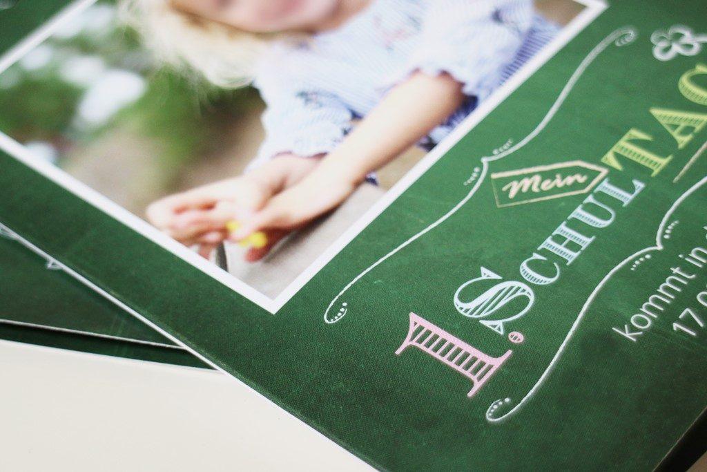 Kullakeks - Sendmoments - Einschulung - Einladung - Tafeldesign