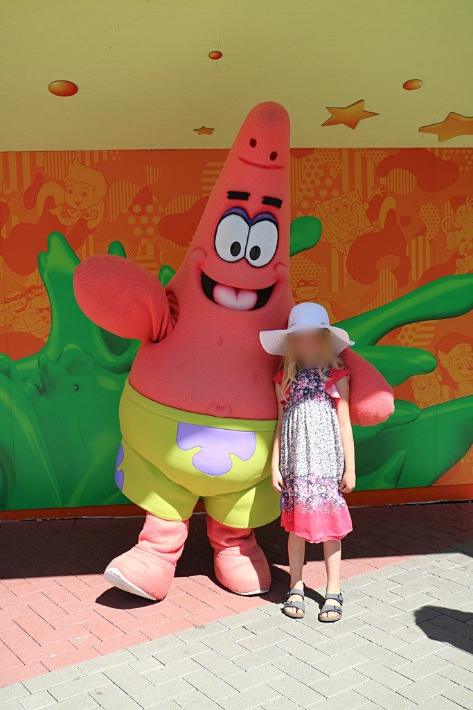 Kullakeks - Movie Park - Patrick - Spongebob Schwammkopf