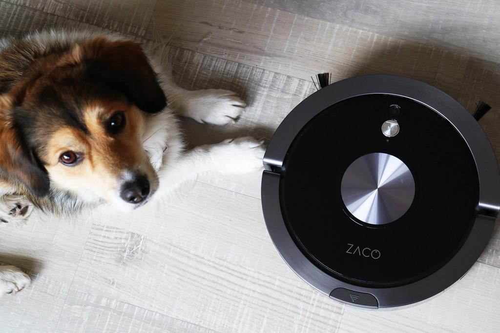 Kullakeks - Zaco A9s - Staubsaugerroboter - Titelbild