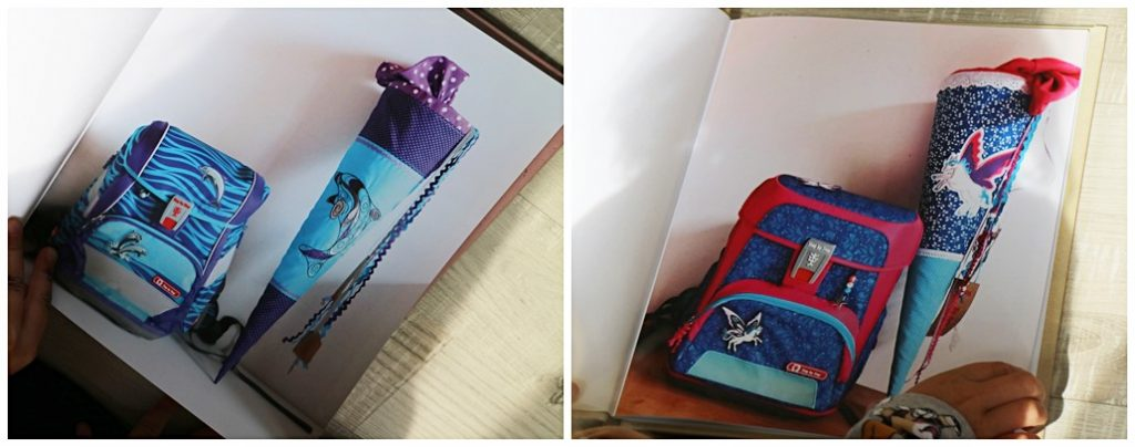 Kullakeks - sendmoments - Fotobücher - Einschulung - Schulranzen