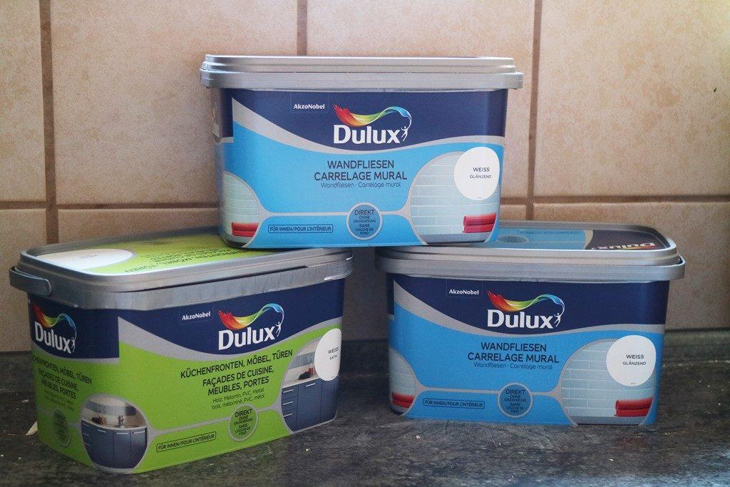 Kullakeks - Küche- Farbe - Fliesenlack - Dulux