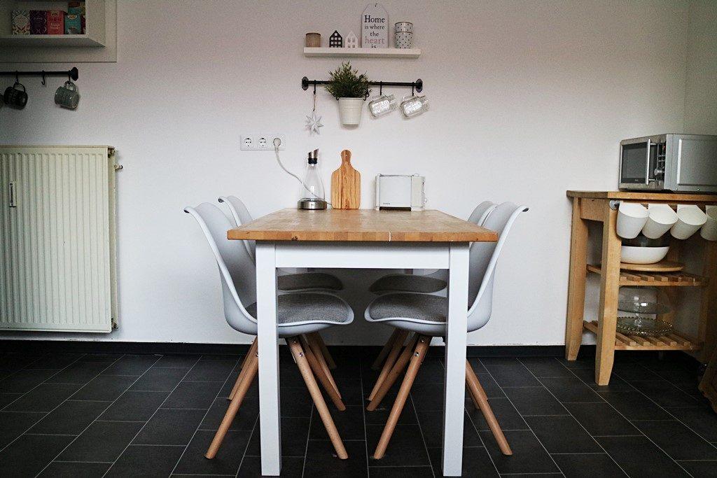 Kullakeks - Küche - Vorher Nachher - Esstisch