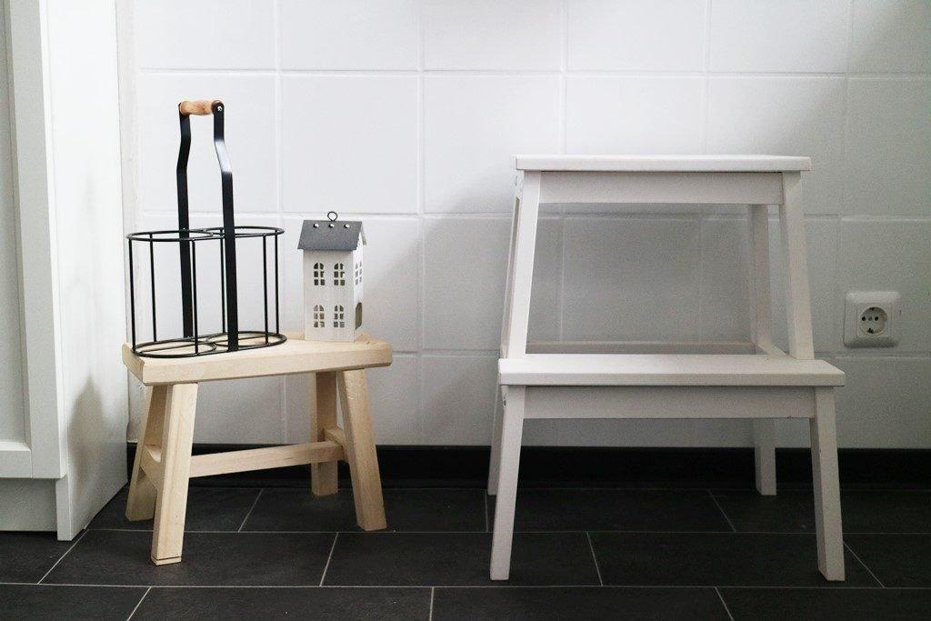 Kullakeks - Küche - Vorher Nachher - Fliesen - Dulux