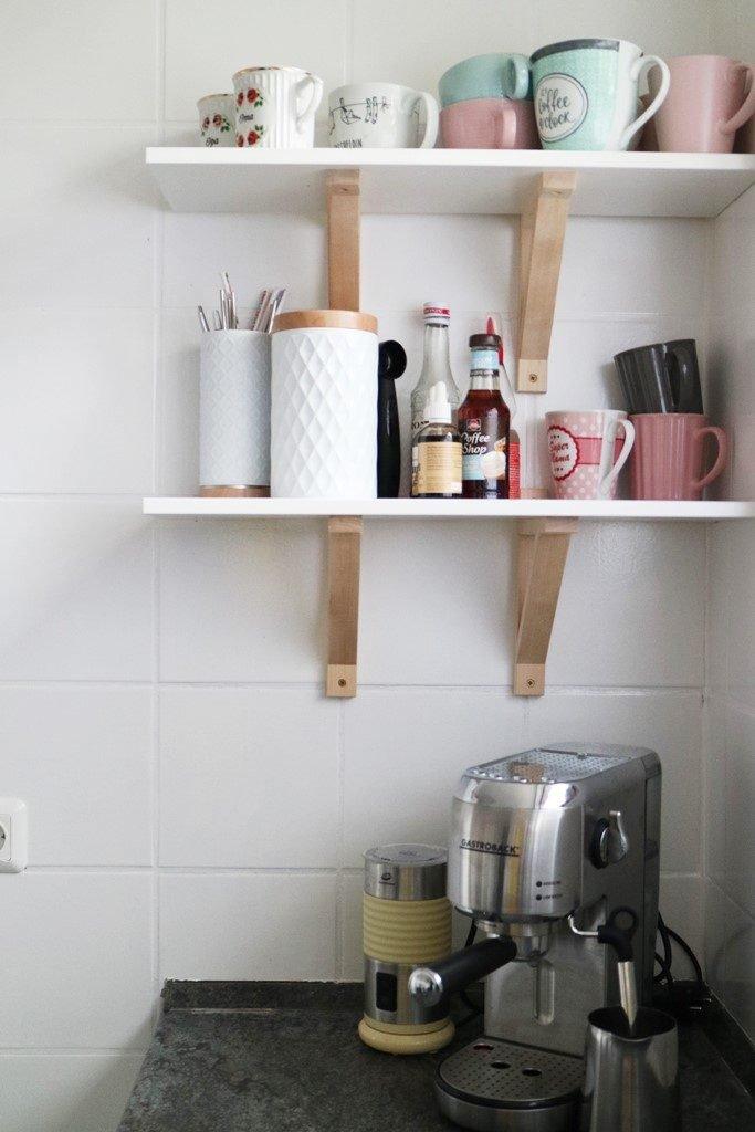 Kullakeks - Küche - Vorher Nachher - Kaffeebar