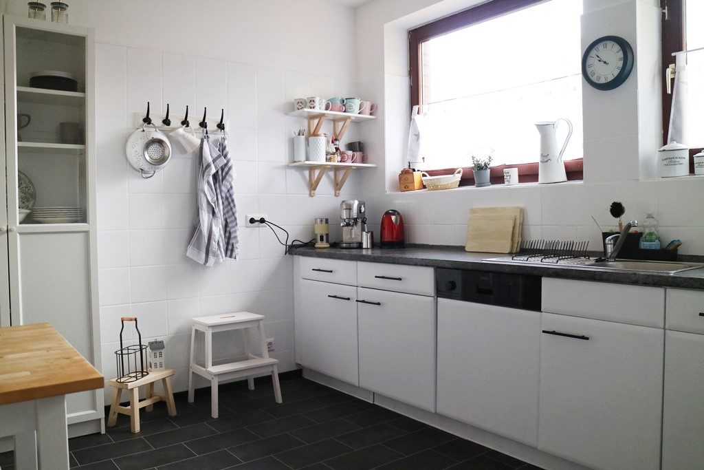 Kullakeks - Küche - Vorher Nachher - Komplett