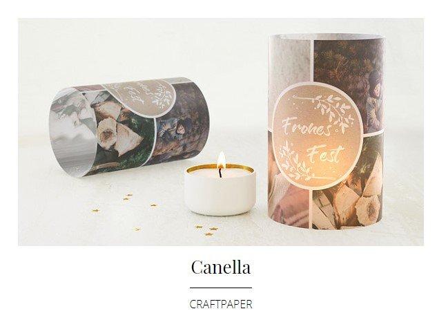 Kullakeks - sendmoments - Weihnachtskarten - Canella Craftpaper