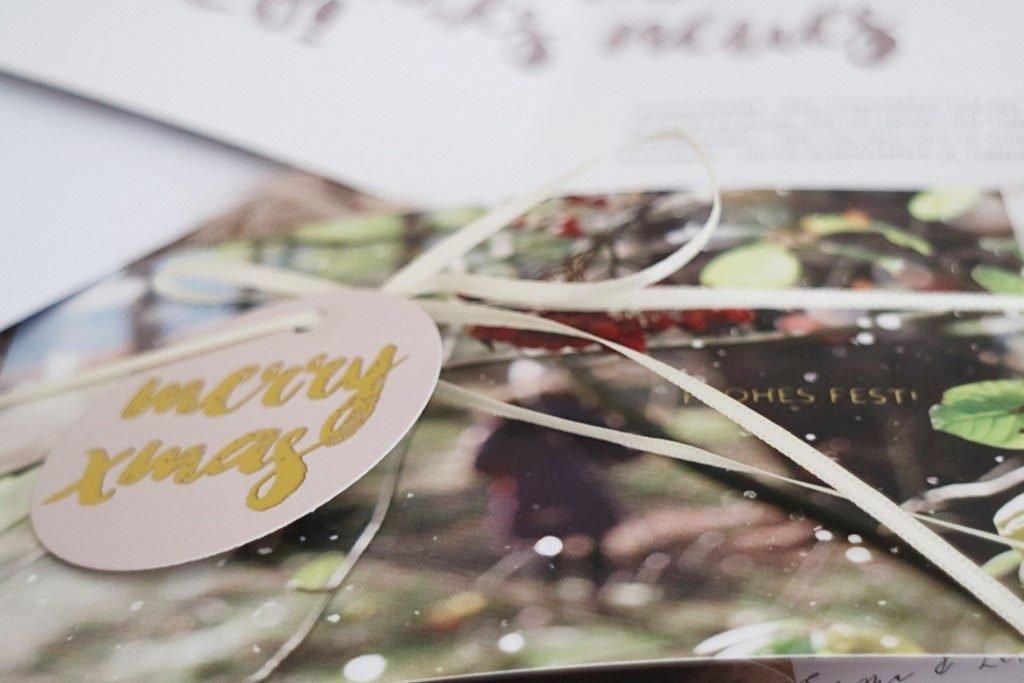 Kullakeks - sendmoments - Weihnachtskarten - Details