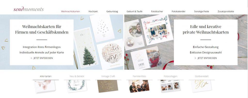 Kullakeks - sendmoments - Weihnachtskarten - Online gestalten