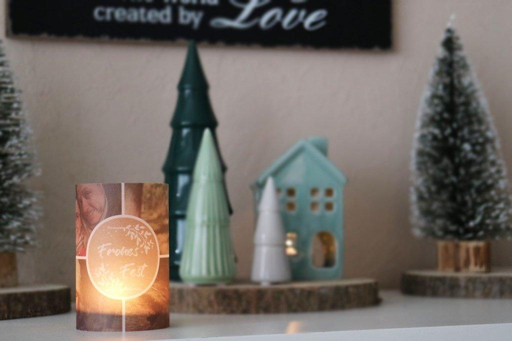 Kullakeks - sendmoments - Weihnachtskarten - Windlicht - Teelicht