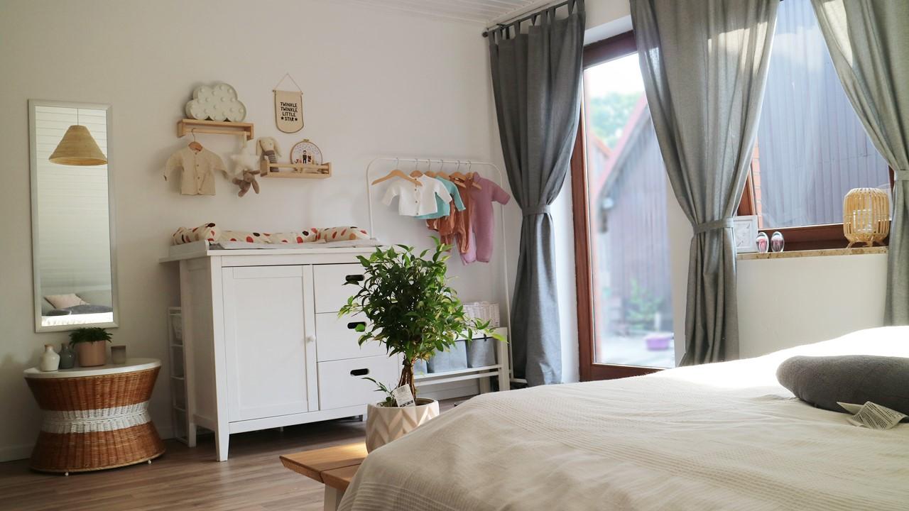 Kullakeks - Schlafzimmer - Endergebniss - Babyecke