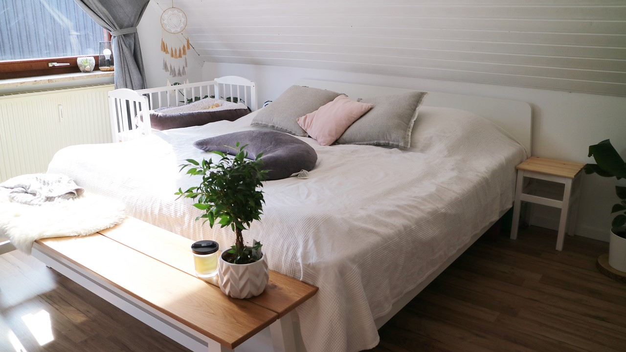 Kullakeks - Schlafzimmer - Endergebniss - Bett - Beistellbett