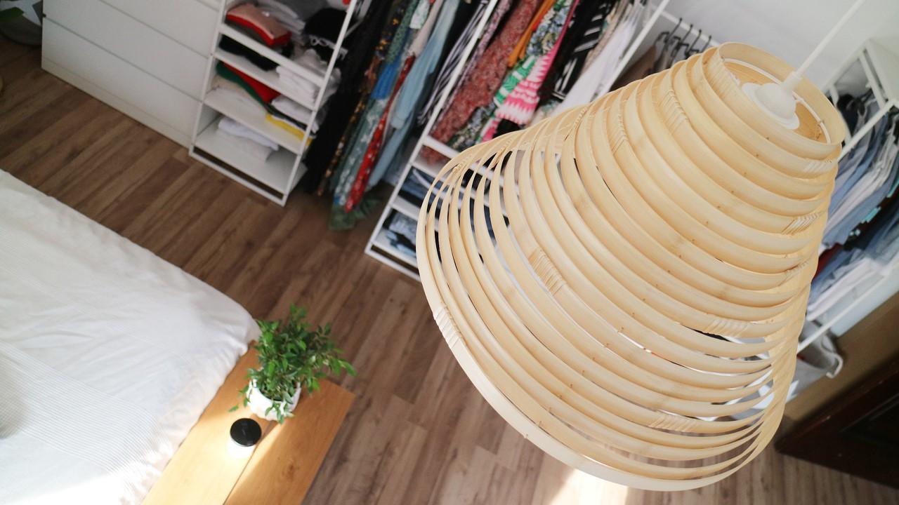 Kullakeks - Schlafzimmer - Endergebniss - Deckenlampe